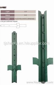 Pvc Coated Fence Post From China Manufacturer Tianjin Shenfu Trading Co Ltd