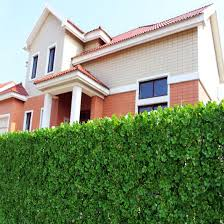 China Plastic Grass Screening Fence Ivy High Quality Artificial Hedge China Plastic Artificial Fence And Artificial Plant Price