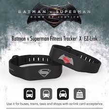 batman v superman fitness tracker x ez