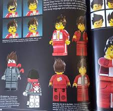 Concept art of Lego Ninjago Movie Kai