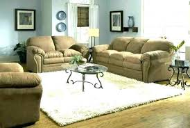 grey walls and brown sofa furniture