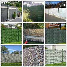 China 450g Holz Optik 19cmx35m With 20clips Pvc Tarpaulin Strip Screen Fence Garden Fencing From China On Topchinasupplier Com