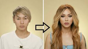 guy to makeup transformation