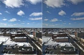 the hdr mode is a quick trick to make
