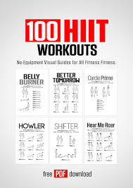 100 hiit workouts by darebee