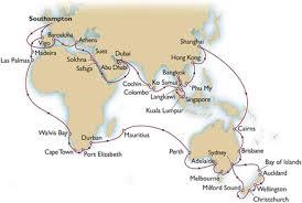 cunard queen mary 2 world cruise 2019