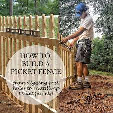 How To Build A Picket Fence Ashley Hackshaw Lil Blue Boo
