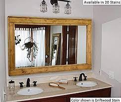 large mirror double vanity mirror