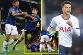 Late Cenk Tosun goal rescues point for Everton vs Tottenham as Andre Gomes  suffers serious injury - NewswireNow