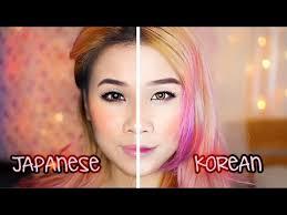 korean makeup vs anese makeup