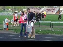 Haluska has CHS track jersey retired - YouTube