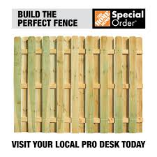 Unbranded 4 In X 4 In X 5 1 3 Ft Pressure Treated Pine 2 Hole Fence End Post 105708 The Home Depot
