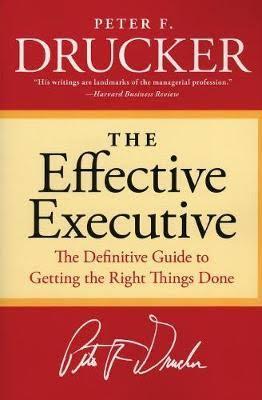 Effective Executive Book Cover