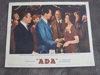 1961 Lobby Card #4 Ada Dean Martin Susan Hayward plus H
