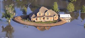 diy levees turn homes into islands