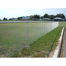 Mesh Galvanized Iron Chain Link Fencing Wire Size 4 5 Feet Rs 15 Square Feet Id 4990118530