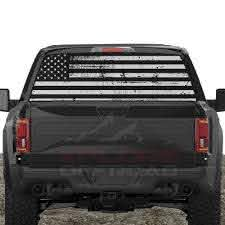 American Flag Rear Window Decals For Trucks Suv S Xplore Offroad Xplore Offroad Stand Out From The Crowd Jeeps Trucks Suvs 4x4s