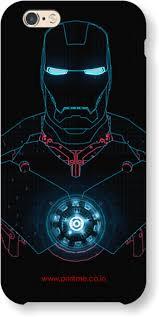 glowing iron man case note 9