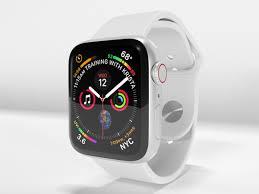 Apple Watch Series 4 Silver Aluminum ...