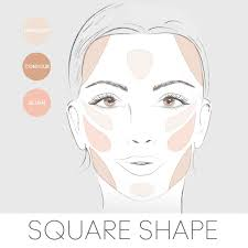 contour highlight for your face shape