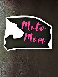 Moto Mom Decal Car Decal Motocross Decals Mom Gift Motocross Mom Vinyl Decal Motocross Car Window Decal Racing Decal Moto Mom Motocross Decals Mom Car