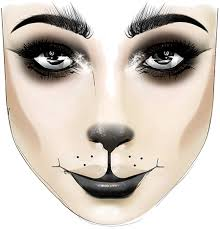 dead kitty makeup look for
