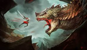 Image result for fighting dragons