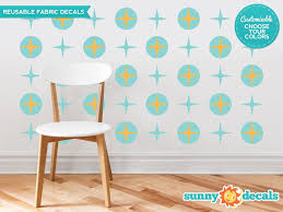 Sunny Decals Circles And Stars Fabric Wall Decal Wayfair