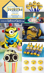 Minion Locura Ii Invitaciones Infantiles E Ideas Para Postres De
