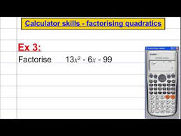 casio fx 991es plus calculator skills