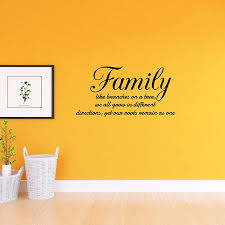 Vwaq Family Like Branches On A Tree Vinyl Wall Decals Quotes Home Sayi