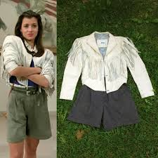 i m looking for a white leather jacket