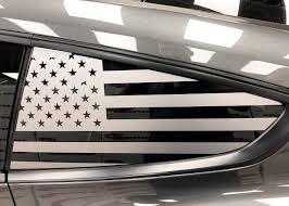 2015 Mustang Quarter Window Flag Decal Kit