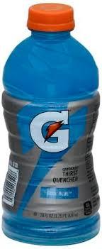 gatorade cool blue thirst quencher 28