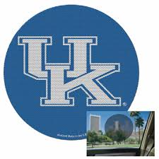 University Of Kentucky Perforated Decals 8