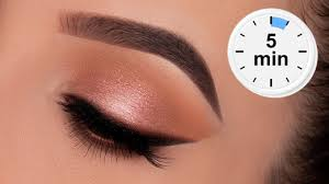 5 minute eye makeup for work