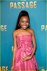 Saniyya Sidney Is Pretty in Pink At 'The Passage' Premiere: Photo 1209751 | Saniyya  Sidney Pictures | Just Jared Jr.