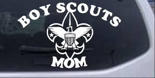 Boy Scouts Mom Car Or Truck Window Decal Sticker Rad Dezigns