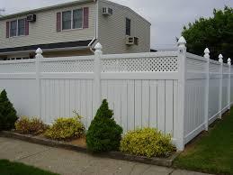 72 Constellation Vinyl Fence With Privacy Lattice Vinyl Fence Pvc Fence Vinyl Picket Fence