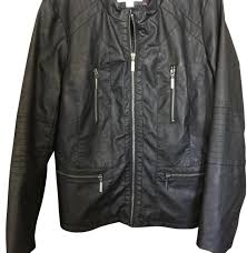 xhilaration black jacket size 14 l