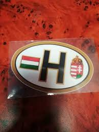 Free Oval Hu Hungary Decal For Car Auto Accessories Listia Com Auctions For Free Stuff