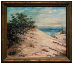 Rowena R. Smith - 19th C. California Sand Dunes For Sale at 1stdibs