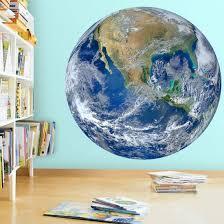 Zoomie Kids 3d Globe Planet Earth Vinyl Wall Decal Reviews Wayfair
