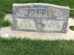Twila Marie Wright Parry (1900-1992) - Find A Grave Memorial