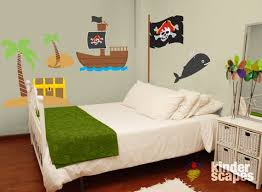 Personalized Pirate Room Wall Decal Pack Kids Wall Decal Etsy