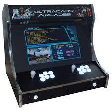 wide screen bartop arcade machine