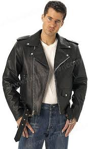 classic sidelaced motorcycle jacket