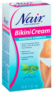 nair cream for sensitive skin