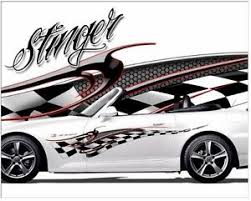 Stinger Vinyl Graphic Decal Motorcycle Go Kart Race Car Decals Ebay