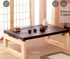 low asian coffee table 2 mos old